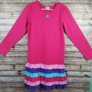 Hanna Andersson 160 girls long sleeve dress 12